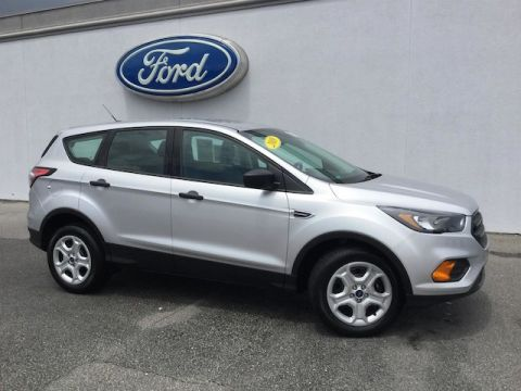 Certified Pre-Owned 2018 Ford Escape S FWD