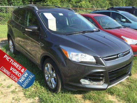Certified Pre-Owned 2015 Ford Escape Titanium FWD