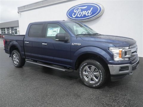 New 2018 Ford F-150 4WD SUPERCREW 145 XLT